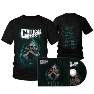 "Savings package ""T-Shirt MMMMM Black + Digipak ""Man Made Machine Made Man"""