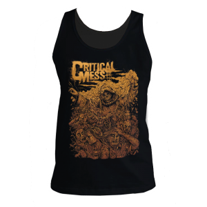 "Tank Top ""Bringer Of All End"" Schwarz"