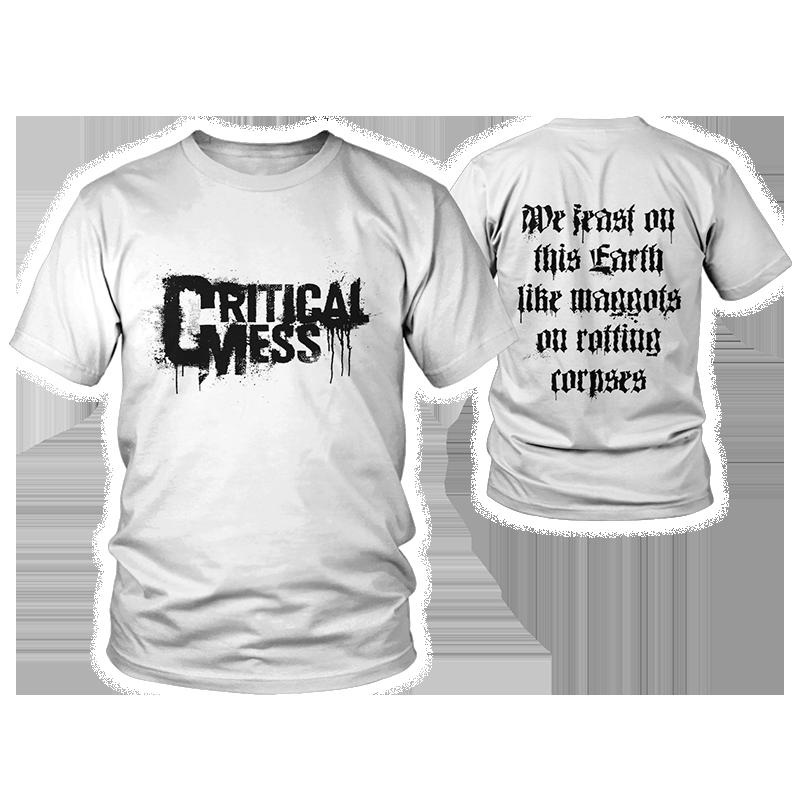 """T-Shirt """"Logo"""" Weiß"""