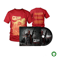 "Savings package ""T-Shirt Bringer Red + Digipak Human Præy"""