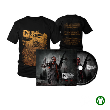 "Savings package ""T-Shirt Bringer Black + Digipak Human Præy"""