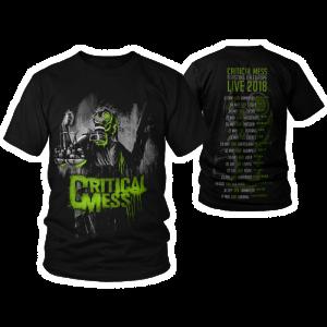 "T-Shirt ""Tour 2018"" Schwarz"